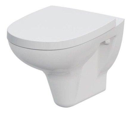 Miska wisząca WC Arteco biała bez deski K667-010 Cersanit